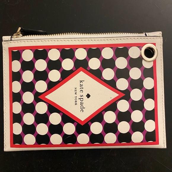 Kate Spade Ace of Spades Wristlet Wallet